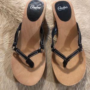 Candies Wooden Sandals